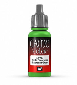 Vallejo Game Color Escorpena Green Paint, 17ml