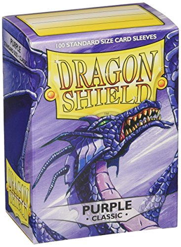Dragon Shield At-10009 Classic Standard Size Sleeves 100pk-Purple