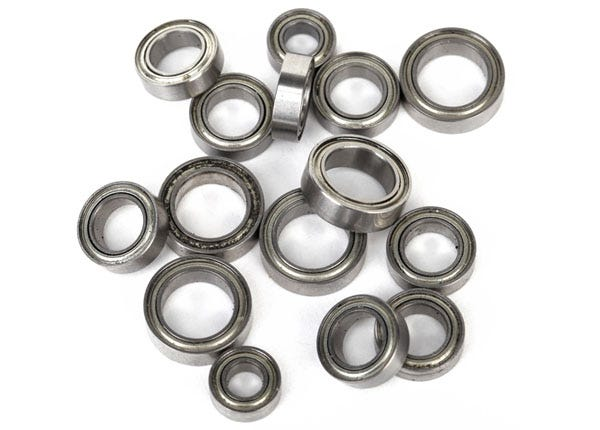 Traxxas 7541X Bearing Set (LaTrax 1/18 scale vehicles) 15 Pieces