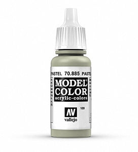 Vallejo Model Color Pastel Green Paint, 17ml