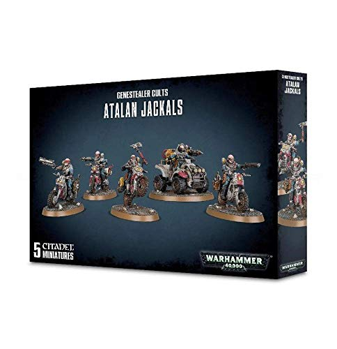 Games Workshop Warhammer 40k Atalan Jackals 51-62