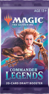 Magic the Gathering CCG: Commander Legends Draft Booster Pack