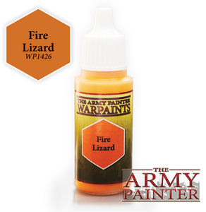 "The Army Painter Warpaints 18ml Fire Lizard ""Orange Variant"" WP1426"
