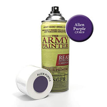 Load image into Gallery viewer, The Army Painter Alien Purple Spray Acrylic Color Primer for Painting Miniatures