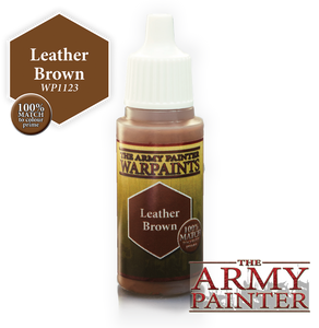 "The Army Painter Warpaints 18ml Leather Brown ""Bown Variant"" WP1123"
