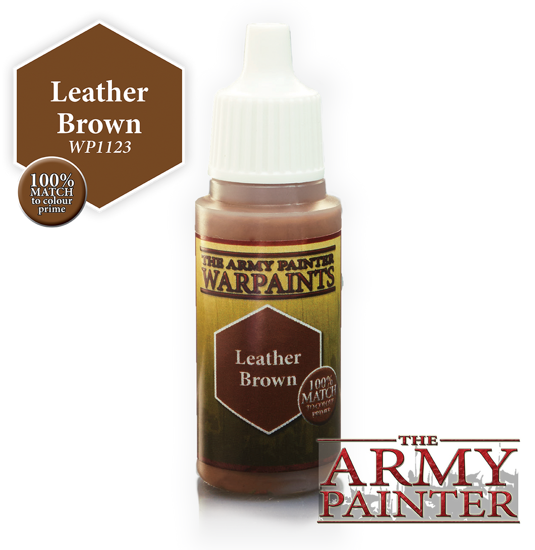 The Army Painter Warpaints 18ml Leather Brown