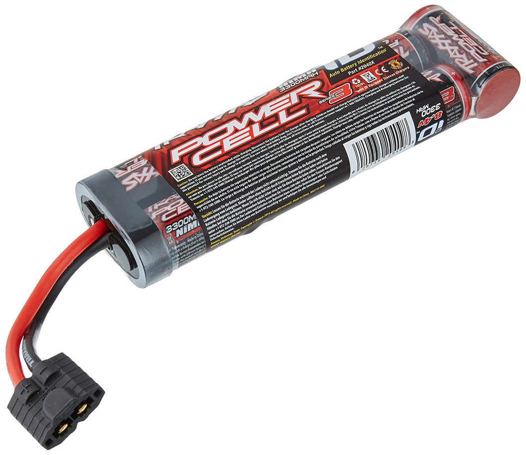Traxxas 2940X Series 3 Power Cell NiMH 7C 8.4V 3300mAh Battery w/iD Connector