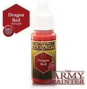 "The Army Painter Warpaints 18ml Dragon Red ""Red Variant"" WP1105"