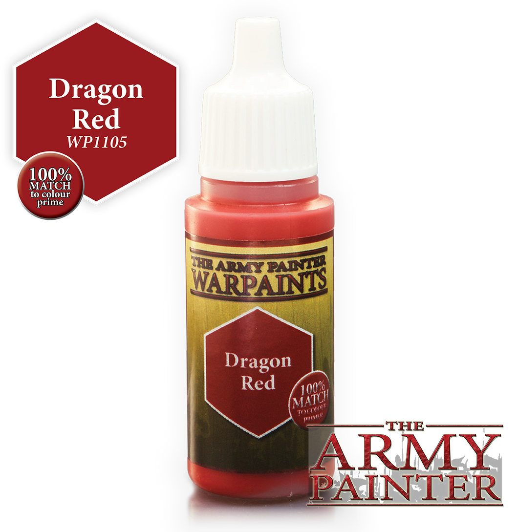 The Army Painter Warpaints 18ml Dragon Red