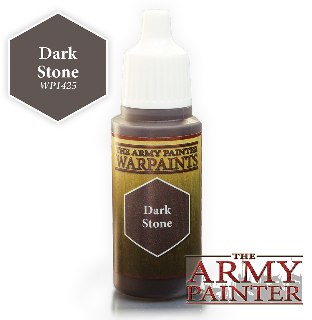 The Army Painter Warpaints 18ml Dark Stone