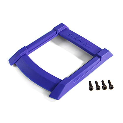 Traxxas 8917X MAXX Skid Plate, Roof Body, Blue/ 3x12mm Cs (4)