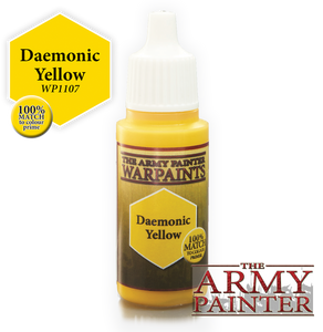 "The Army Painter Warpaints 18ml Daemonic Yellow ""Yellow Variant"" WP1107"