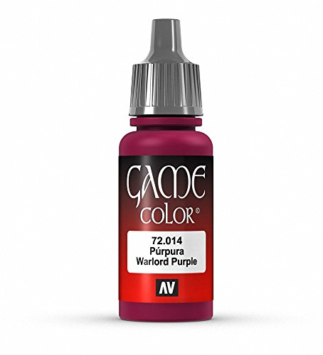 Vallejo Game Color Warlord Purple Paint, 17ml