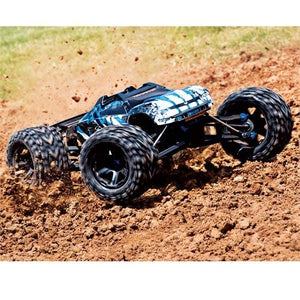 Traxxas 86086-4 E-Revo VXL 2.0 RTR 4WD Electric Monster Truck Blue Brand New
