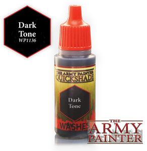 "The Army Painter Warpaint Washes 18ml Dark Tone ""Black Wash"" WP1136"