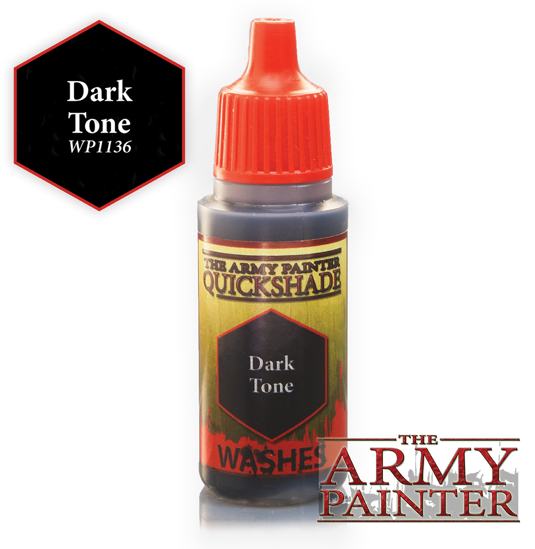 The Army Painter Warpaint Washes 18ml Dark Tone