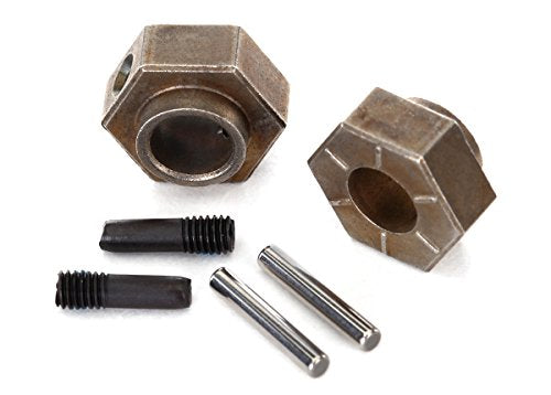 Traxxas 8269 12Mm Wheel Hubs 12mm hex (2)/ stub axle pins (2) (steel) fits TRX-4