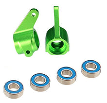 Load image into Gallery viewer, Traxxas 3636G Green-Anodized 6061-T6 Aluminum Steering Blocks (pair)