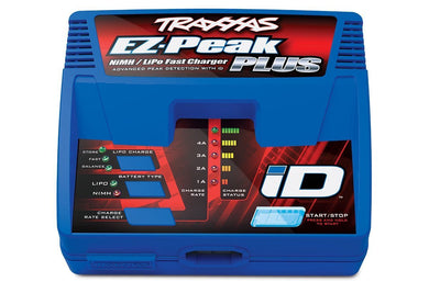Traxxas 2970 EZ-Peak Plus 4-Amp Auto-iD Battery Charger, E-REVO SLASH/RUSTLER TRA2970