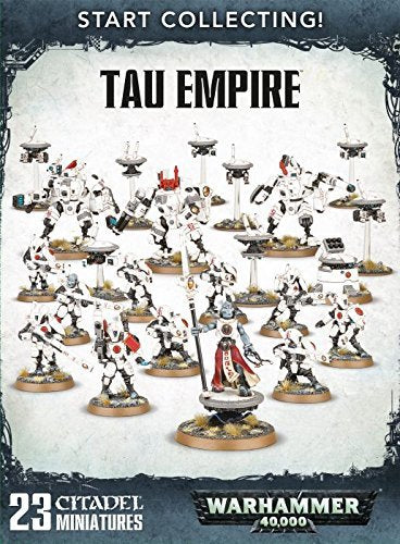 Games Workshop Warhammer 40,000 Start Collecting! Tau Empire