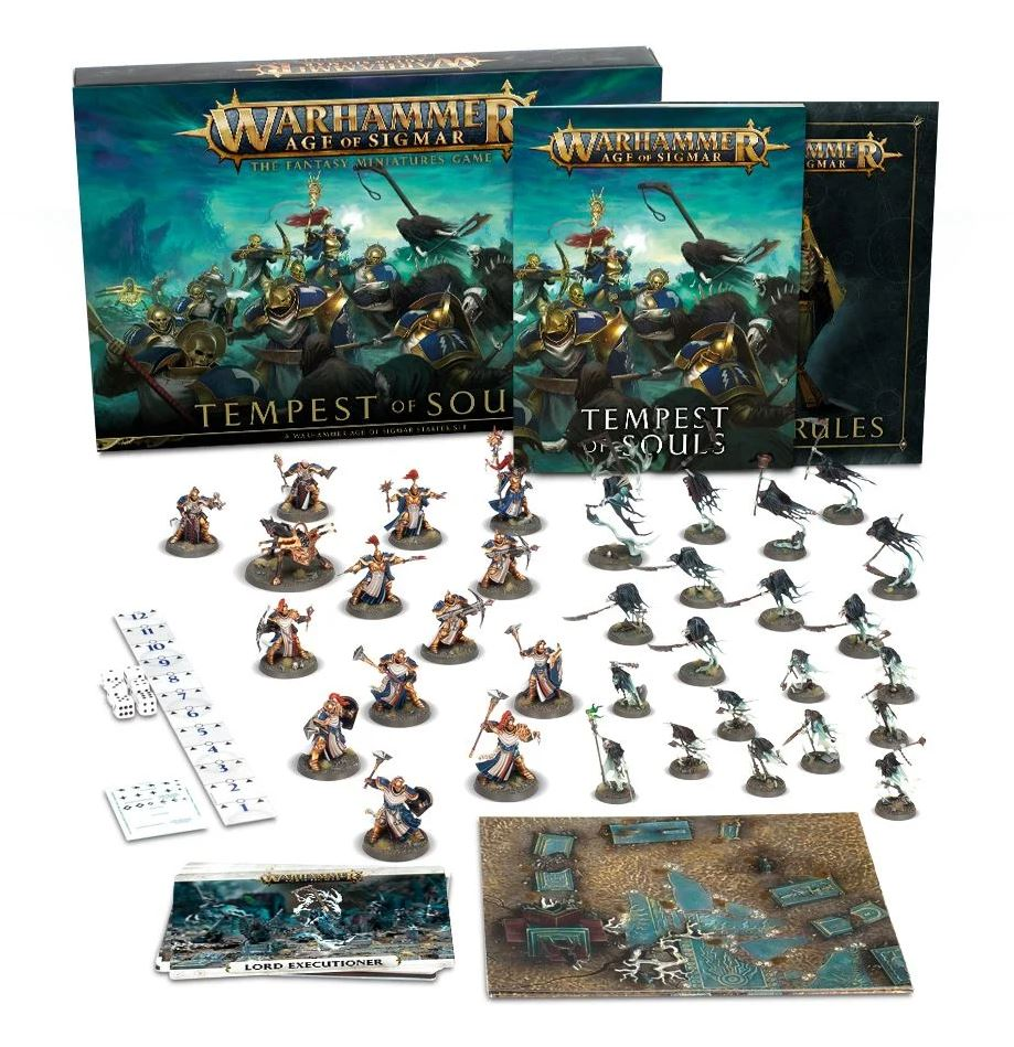 Games Workshop Warhammer Age of Sigmar: Tempest Souls Storm Cast and Nighthaunts