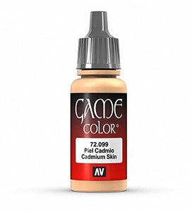 Vallejo Game Color Cadium Skin Paint, 17ml