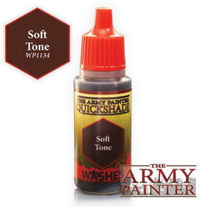 "The Army Painter Warpaint Washes 18ml Soft Tone ""Brown Wash"" WP1134"