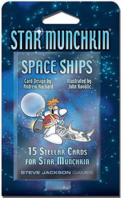 Steve Jackson Games Star Munchkin Space Ships Booster Pack 15 Cards
