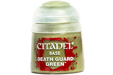 Games Workshop Citadel Base Death Guard Green