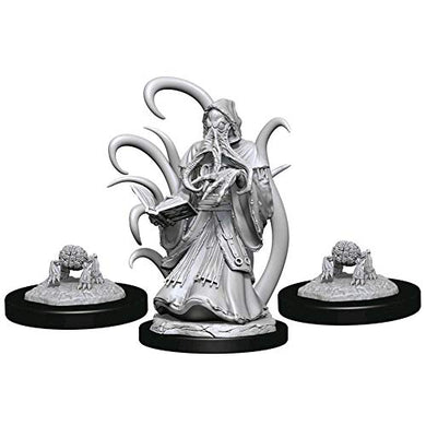 Dungeons & Dragons Nolzur's Marvelous Unpainted Miniatures: Alhoon & Intellect Devourer