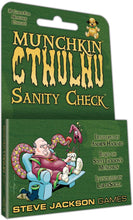 Load image into Gallery viewer, Steve Jackson Games Munchkin Cthulhu Sanity Check