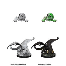 Load image into Gallery viewer, Dungeons & Dragons Nolzur's Marvelous Miniatures - Black Dragon Wyrmling WZK73850