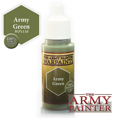 The Army Painter Warpaints 18ml Army Green