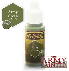 "The Army Painter Warpaints 18ml Army Green ""Green Variant"" WP1110"
