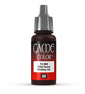 Vallejo Game Color Smokey Ink Paint, 17ml