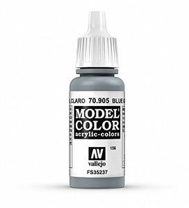 Vallejo Model Color Blue Grey Pale Paint, 17ml