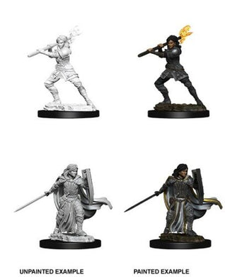 Dungeons & Dragons Nolzur's Marvelous Miniatures Female Human Paladin WZK73830
