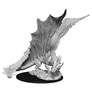 D&D Nolzurs Marvelous Upainted Miniatures: Wave 11: Young Gold Dragon 90034