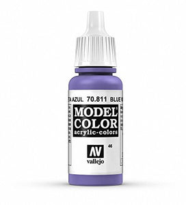 Vallejo Model Color Violet Blue Paint, 17ml