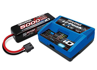 Traxxas 2996X - Power Cell 4S 14.8V Lipo Battery / iD Charger Completer Pack