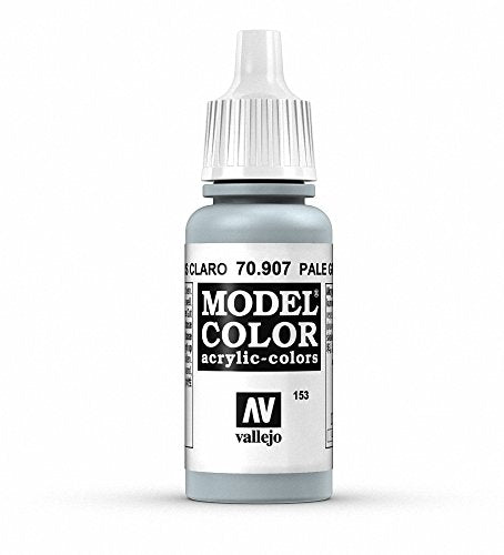 Vallejo Model Color Pale Greyblue Paint, 17ml
