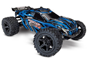 TRAXXAS RUSTLER 4X4 BRUSHED Model 67064-1 Blue