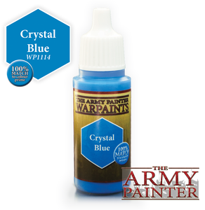 "The Army Painter Warpaints 18ml Crystal Blue ""Blue Variant"" WP1114"