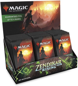 Magic The Gathering Zendikar Rising Set Booster Box (30 Packs)