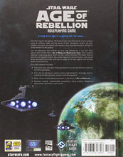 Load image into Gallery viewer, Star Wars Age of Rebellion: Core Rulebook Table Top Game