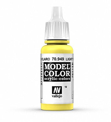 Vallejo Model Color Acrylic Paint, Light Yellow
