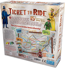 Load image into Gallery viewer, Days of Wonder Ticket to Ride Us 15th Anniversary Edition
