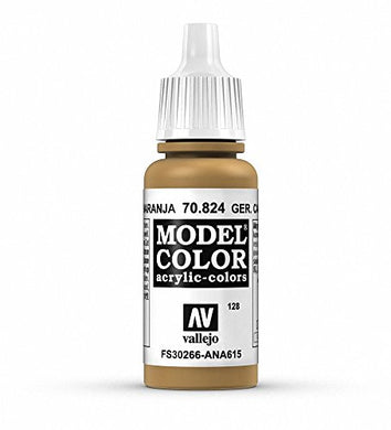 Vallejo Model Color German Camo Ochre Paint, 17ml