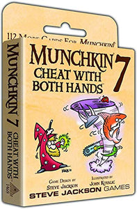 Munchkin 7 - Cheat With Both Hands 112 More Cards for Munchkin