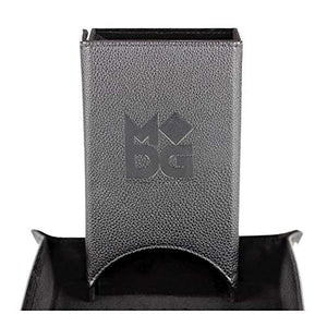 Velvet Fold Up Dice Tower - Black